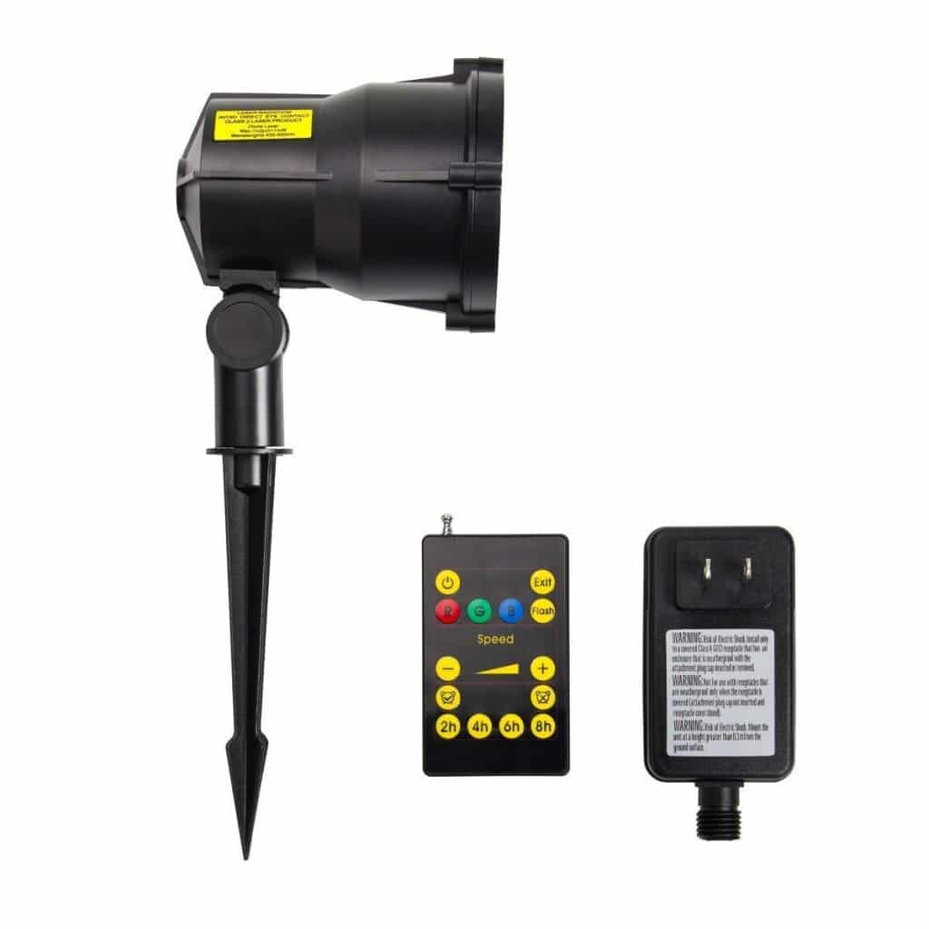 Srocker Garden Waterproof Moving RGB is best laser christmas lights & Projector with Remote Control
