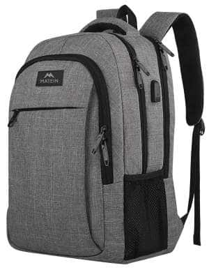 Travel Laptop Backpack, Business Anti Theft Slim Durable Laptops Backpack