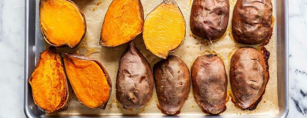best way to microwave a sweet potato