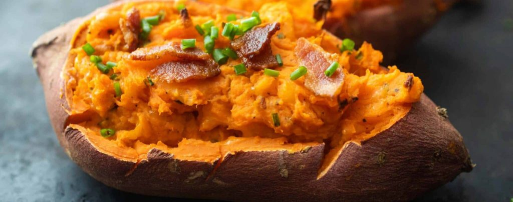 make sweet potato in microwave