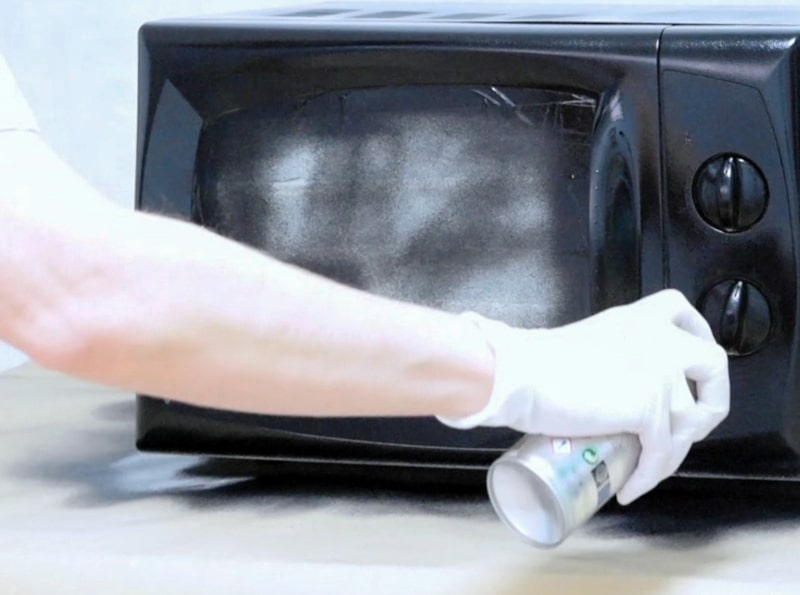 microwave touch up paint