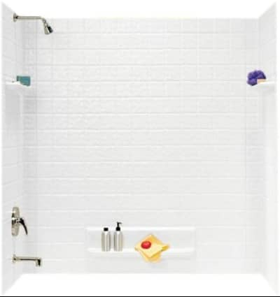 tub and shower faucet combo